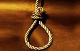 bhopal, Marriage hanged, leaving two ,a half year old son, father