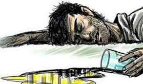 Ujjain, two deaths ,due to drinking poisonous, liquor, three serious