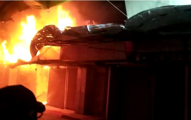 bhopal, 25 firebrands caught, fire extinguished ,capital