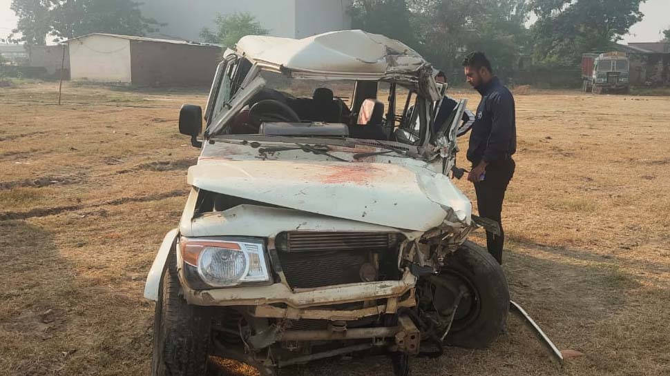 satna, Seven people killed, fierce road accident, collision between, Dumper and Bolero