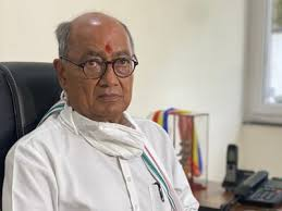 bhopal, Digvijay Singh ,expressed confidence , EVM for the first time