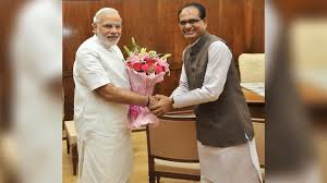 bhopal,Chief Minister, Shivraj meets ,Prime Minister Modi, discusses, road map , self-reliant MP