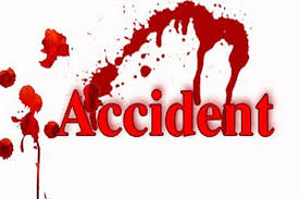 Damoh, bike-riding, father-son killed, high-speed car collision, one injured