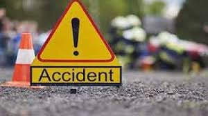 rajgarh,Three injured, including mother,son riding bike