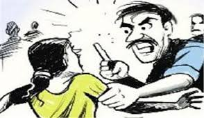 rajgarh, Mother and son ,beaten up ,old enmity, sabotage in bike