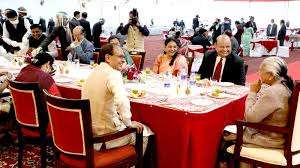 bhopal,Banquet in honor , newly appointed Chief Justice, Chief Minister