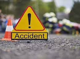 Indore, Honda City ,entered into truck, young man, died on the spot